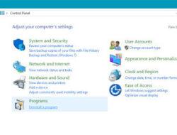 Cara Uninstall atau Menghapus Software di Windows | Pondok Editor