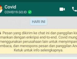 Terbaru, Kominfo Sebar Informasi Covid-19 via WhatsApp Blast