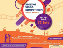 [GRATIS] Lomba Video Pendek Nasional 2021 di Universitas Amikom Yogyakarta
