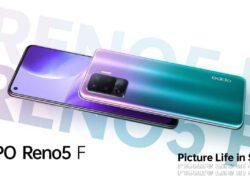 Rilis Oppo Reno 5 F, Ini Fitur Fotografi dan Videografinya